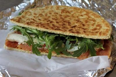 Piadina Romagnola (Romagnolan Flatbread Sandwich)