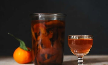 Make Orange-Rum Liqueur to Give the Gift of Caribbean Tradition