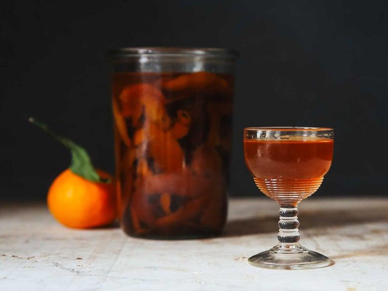 Clementine-Rum Liqueur