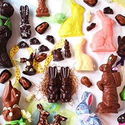 Chocolate Easter Bunnies that Break the Mold