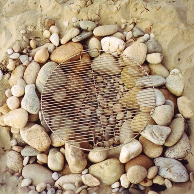 How to Build a Stone Beach Grill