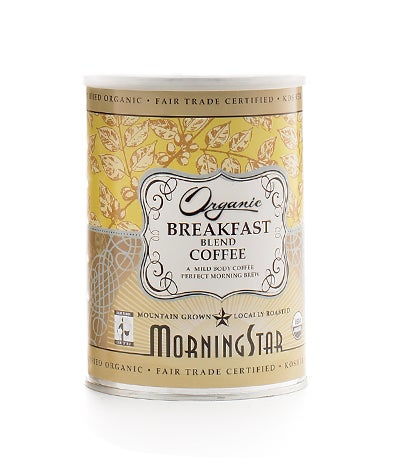 Morning Star Fair Trade Organic Breakfast Blend
