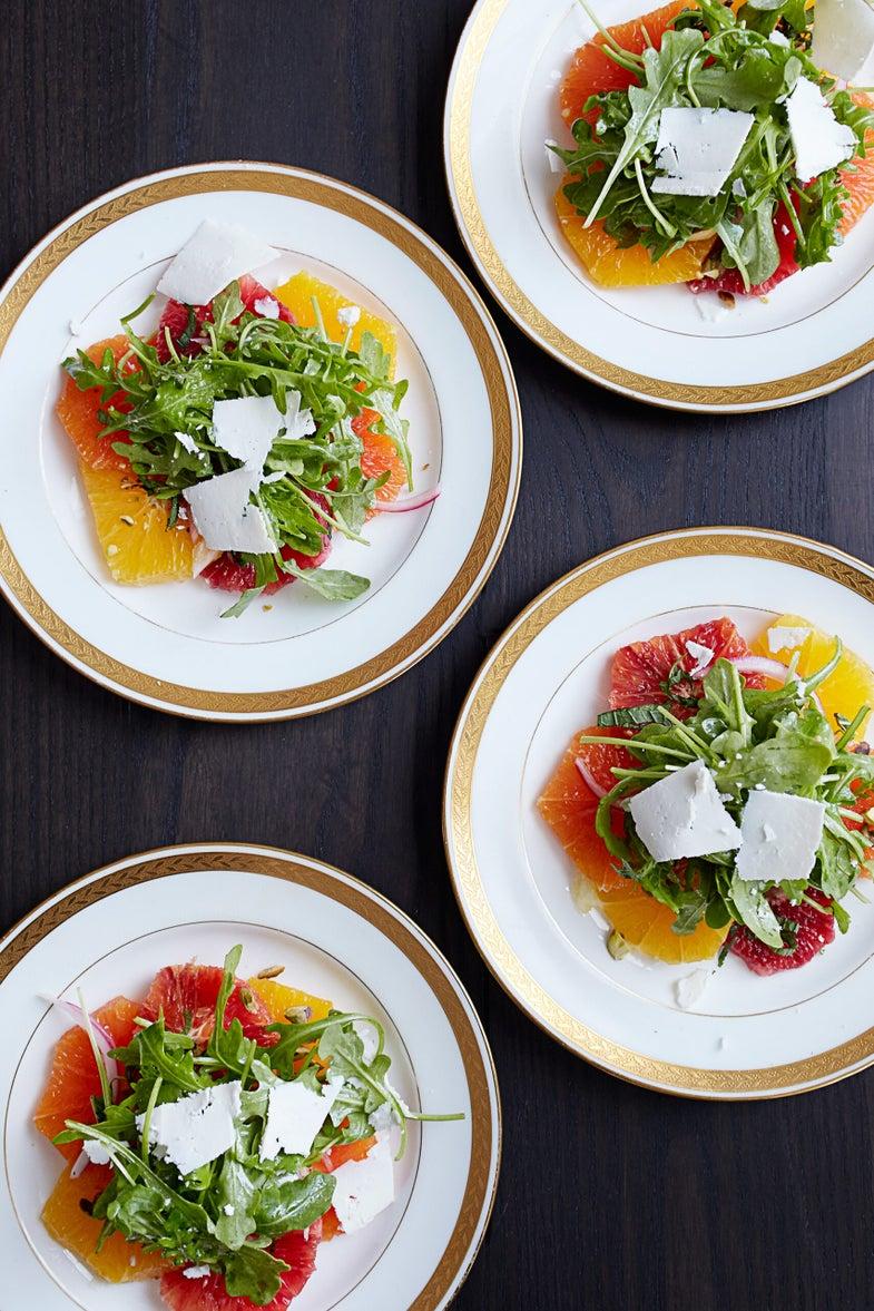 Citrus Salad with Arugula & Ricotta Salata