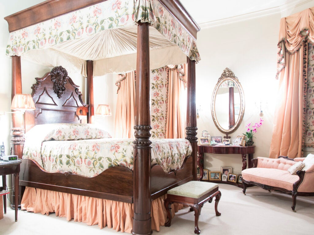 Dottie Brennan, Antique Four-Poster Bed