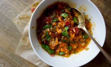 Preserve the Season: Apricot Salsa