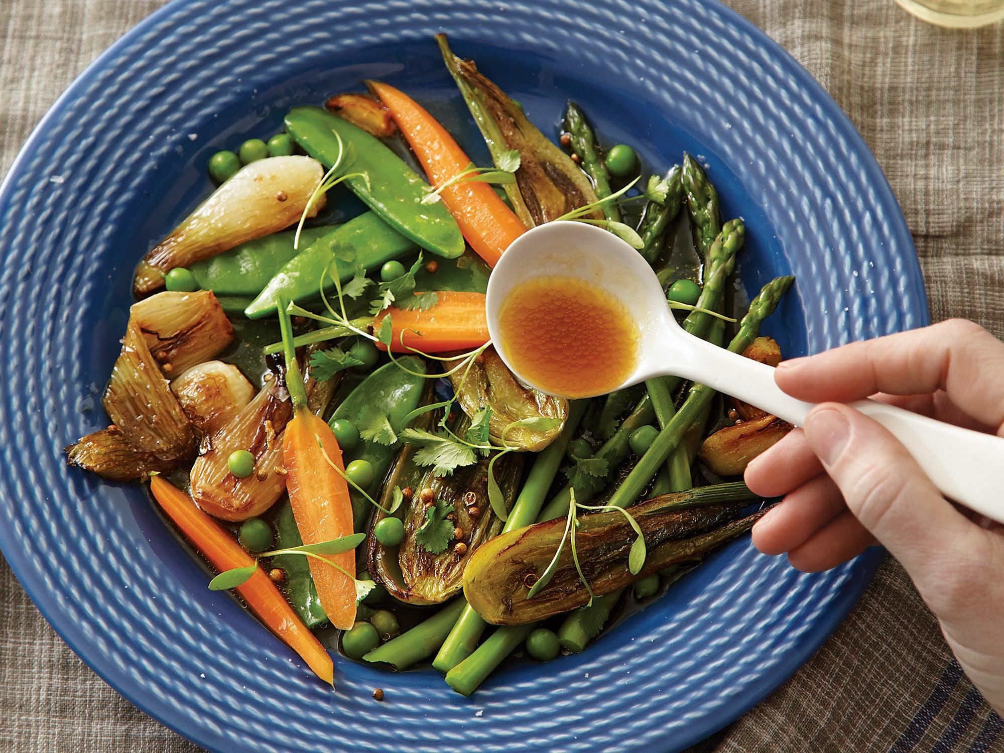 Spring Vegetable Barigoule