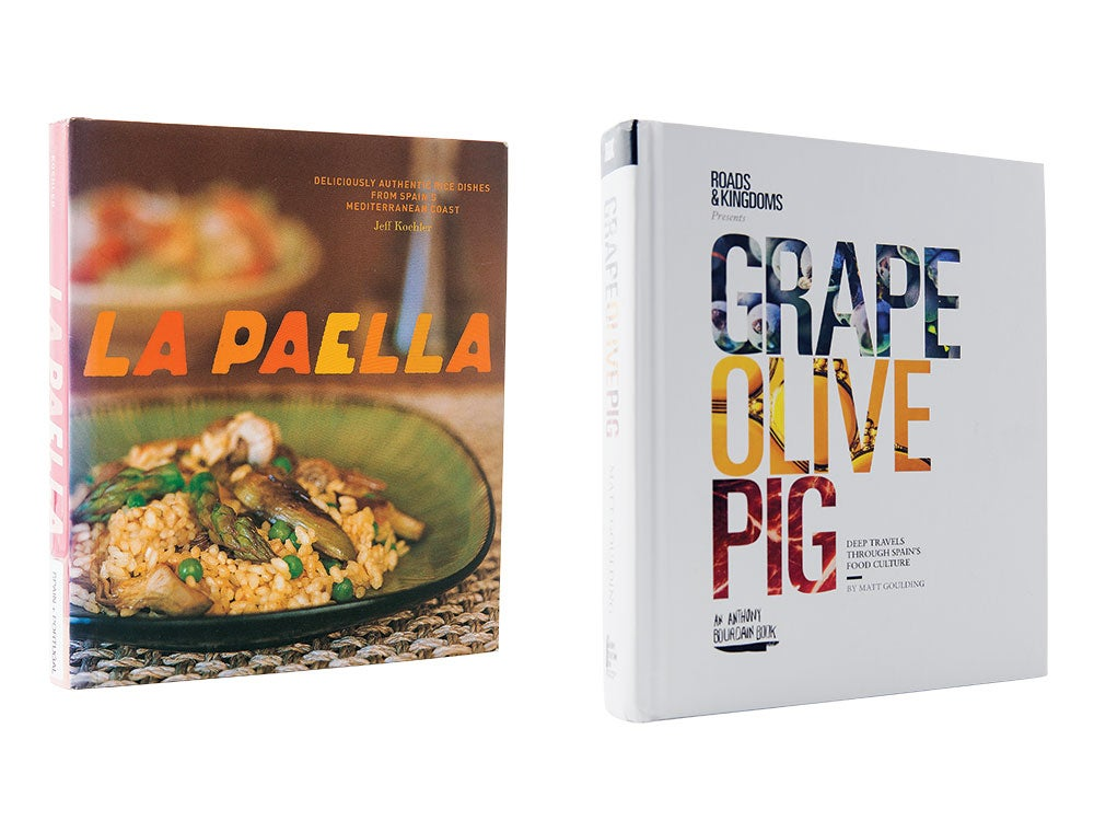 paella recipe books