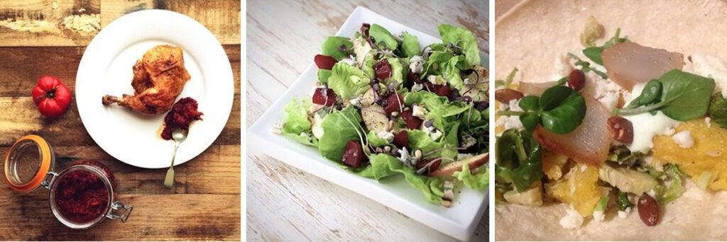 Salad of Bibb lettuce