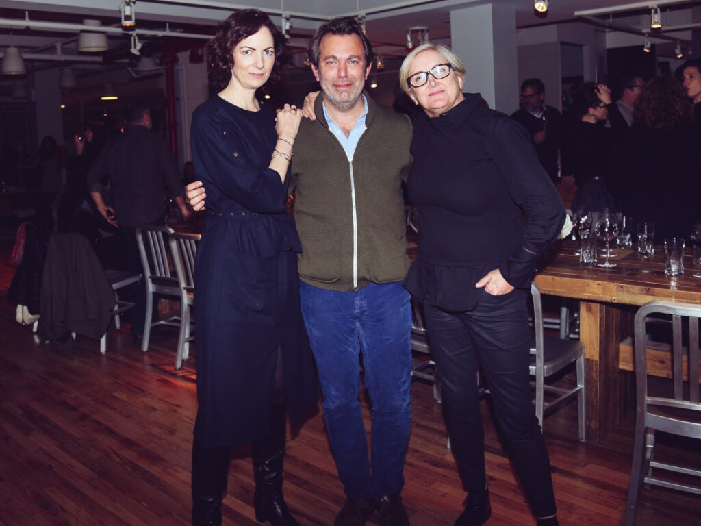 Cherry Bombe's Kerry Diamond, Adam Sachs, and Williams-Sonoma's Jean Armstrong