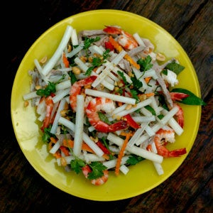 Lotus Stem Salad