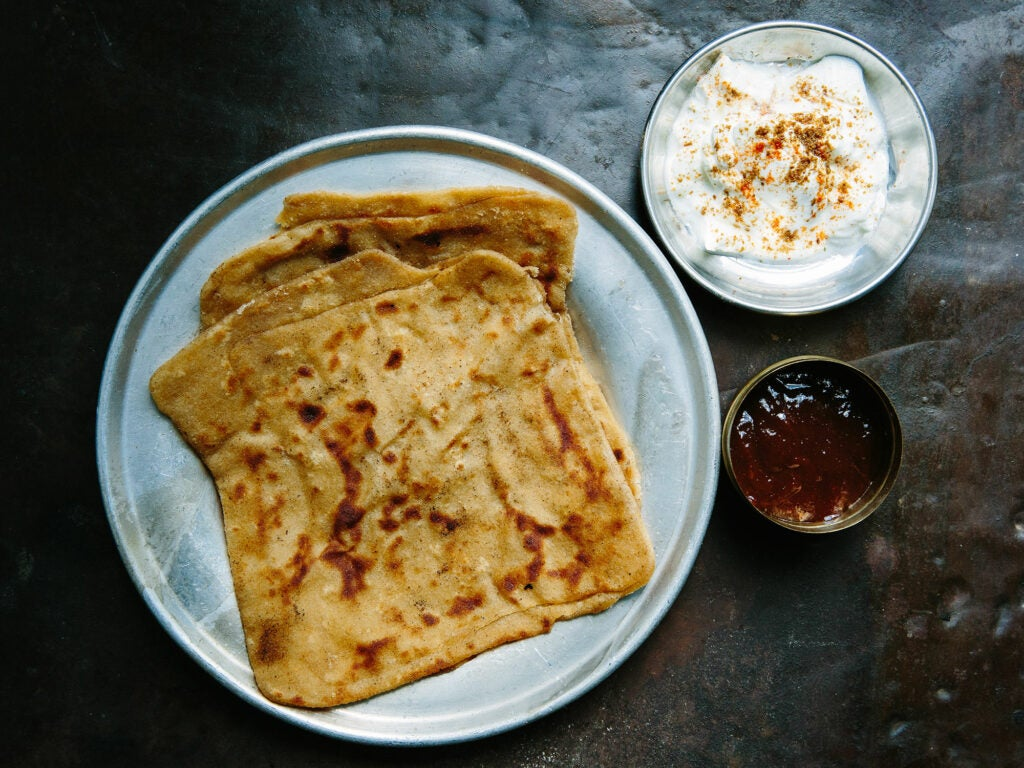 Madhur Jaffrey's Secrets to Perfect, Paper-Thin Parathas
