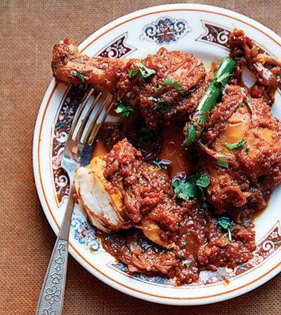 Chicken and Onion Curry (Chicken Dopiaza)