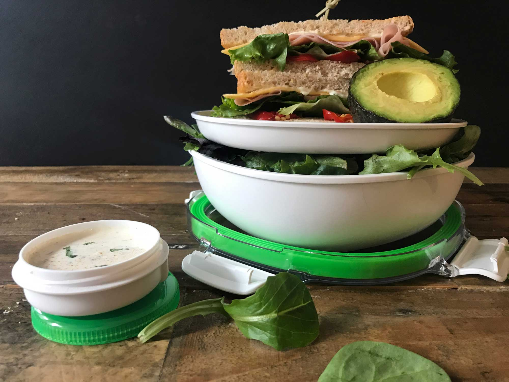 OXO Salad Container Kit