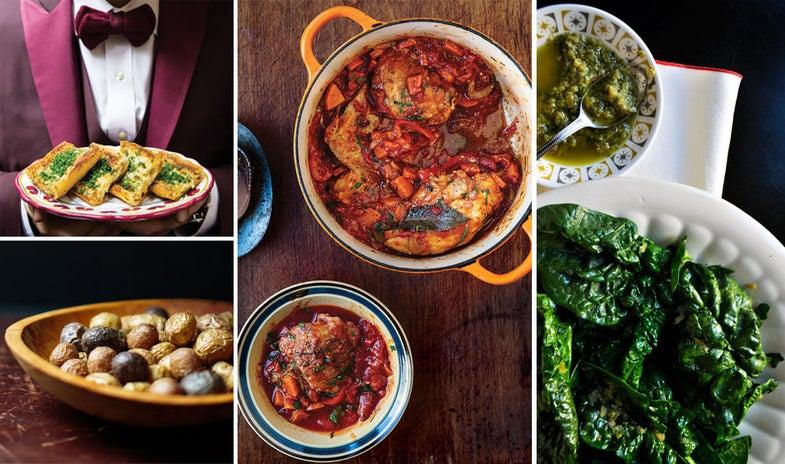 Menu:  Marcella Hazan's Italian Comfort Food
