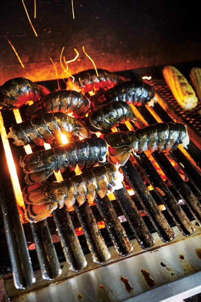 Lobster Over Coals