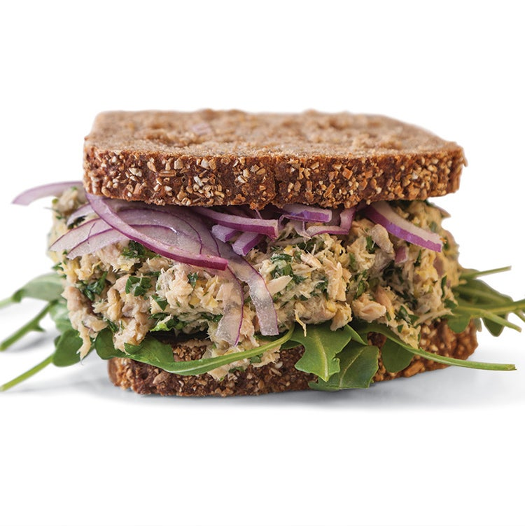 Lemon Pepper Tuna Sandwich