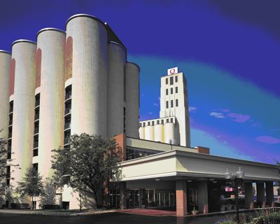 A Silo with a View: Inside the Quaker Square Inn