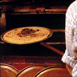 Chickpea-flour Crêpe