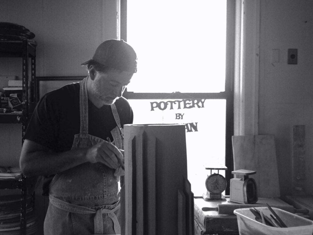 Fernando Aciar in his studio