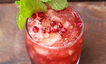 Pomegranate Fig Smash
