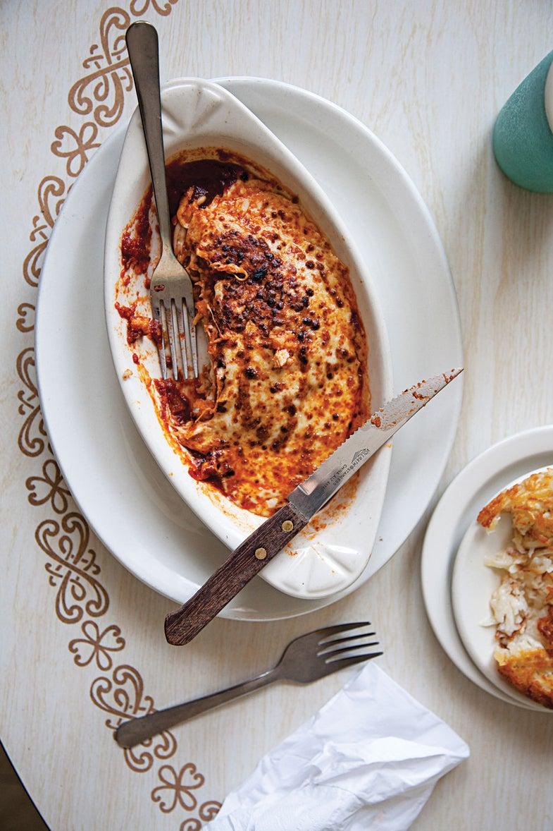 Steakhouse Chicken Parmesan