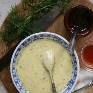 Gravlax and Mustard Sauce: Perfect Partner