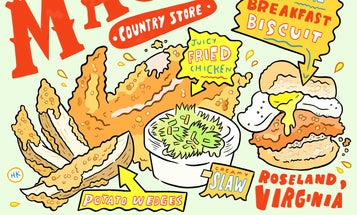 One of America's Best Fried Chickens Comes From a Virginia Gas Station