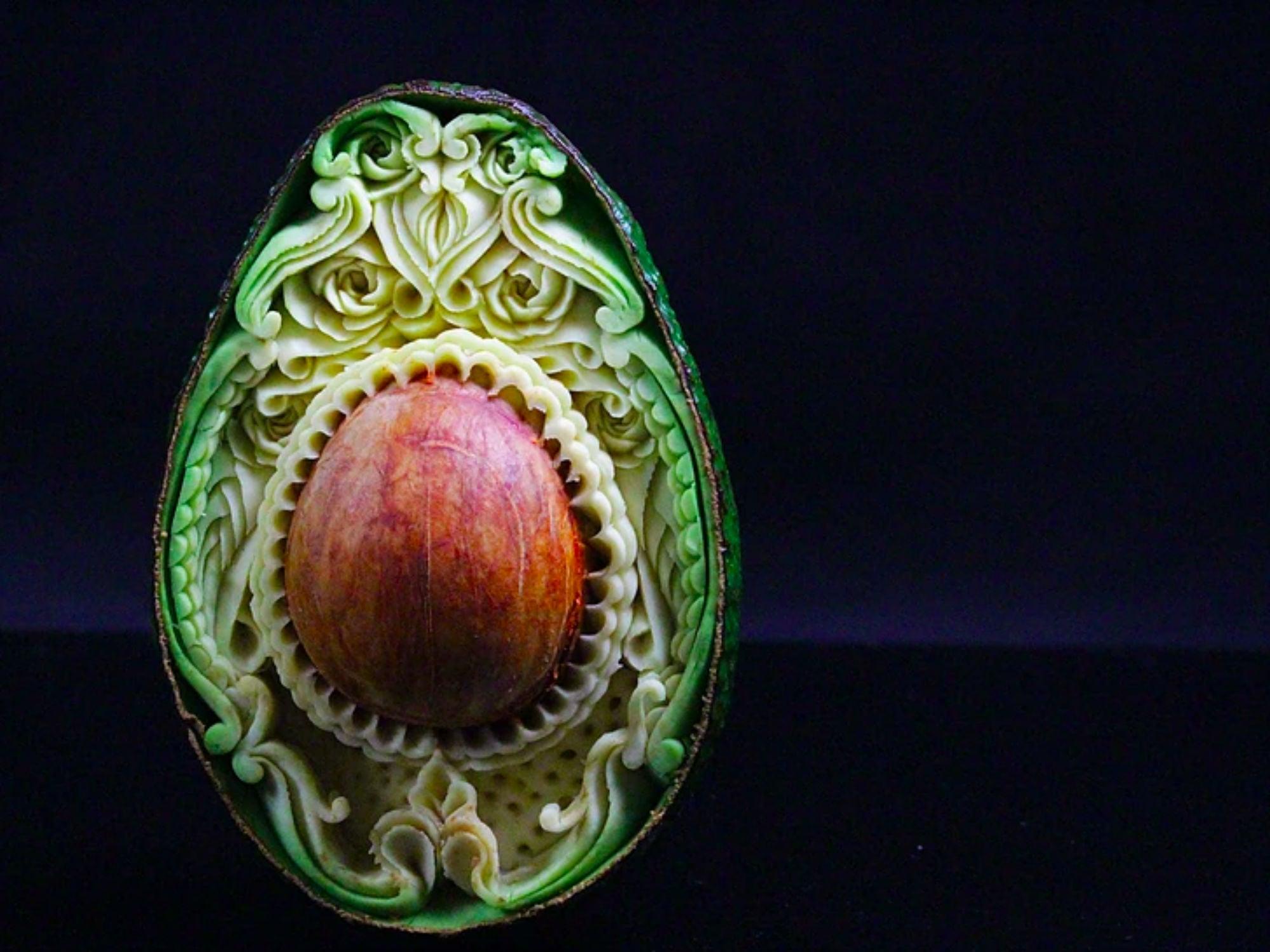 Italian Artist Turns Ordinary Foods Into Intricate Works of Art