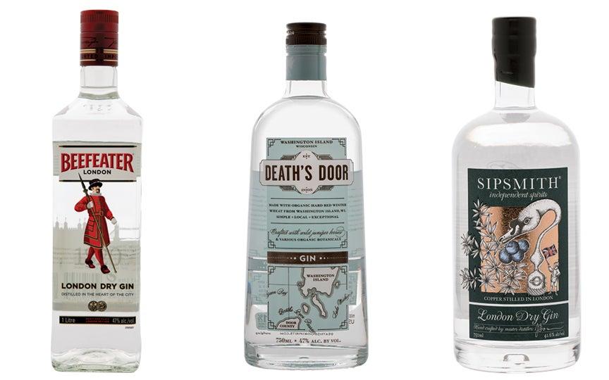 gin, london dry gin