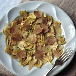 Truffle and Artichoke Salad