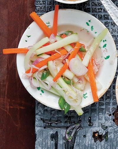 Javanese Cucumber and Carrot Pickle (Acar Timun)