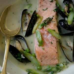 Salmon à la Nage