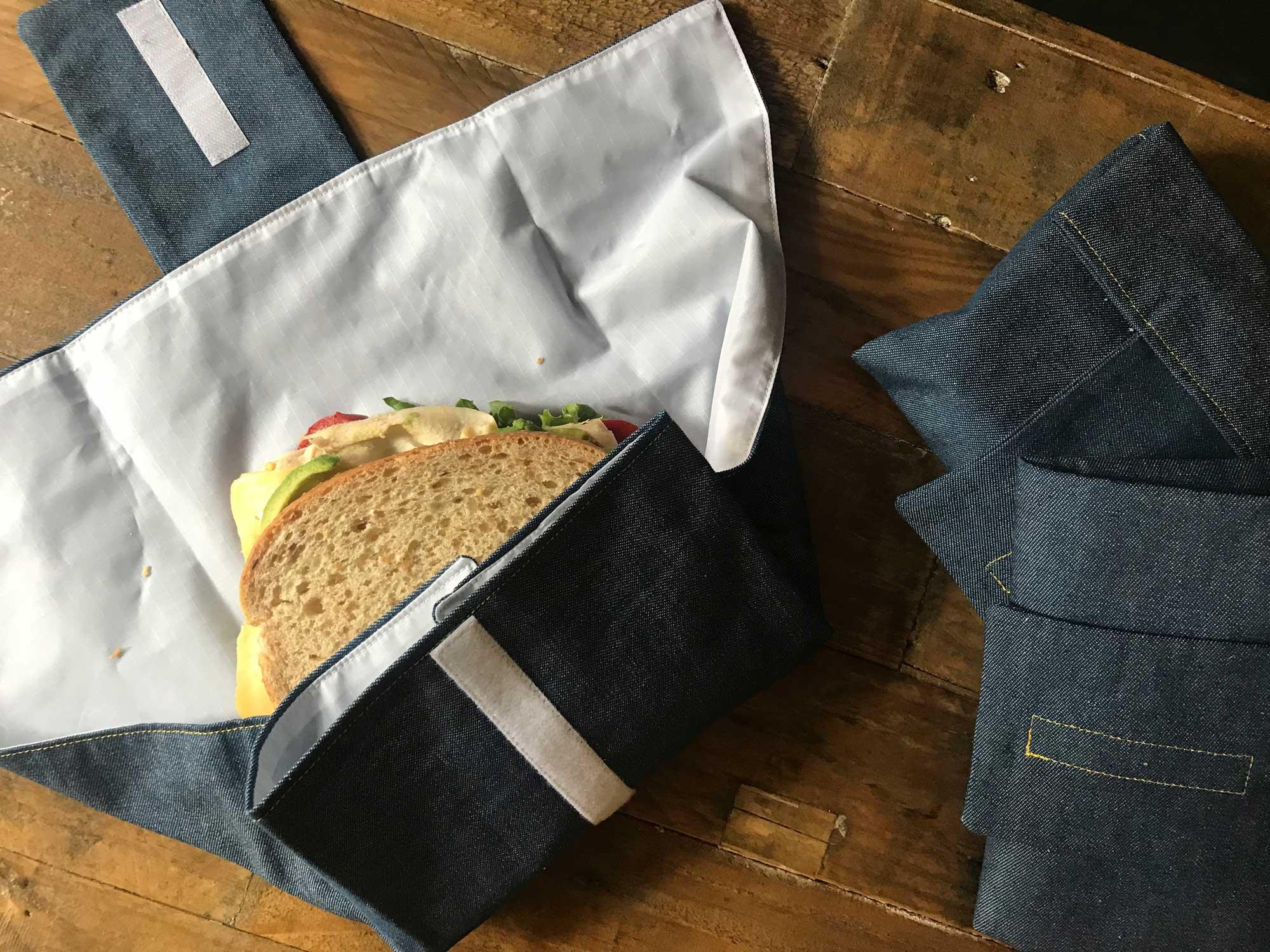 Denim Sandwich Wraps