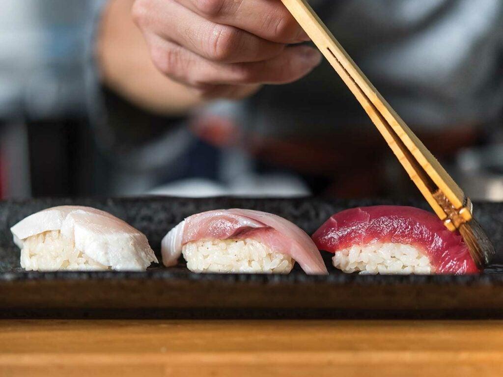 seasoning nigiri