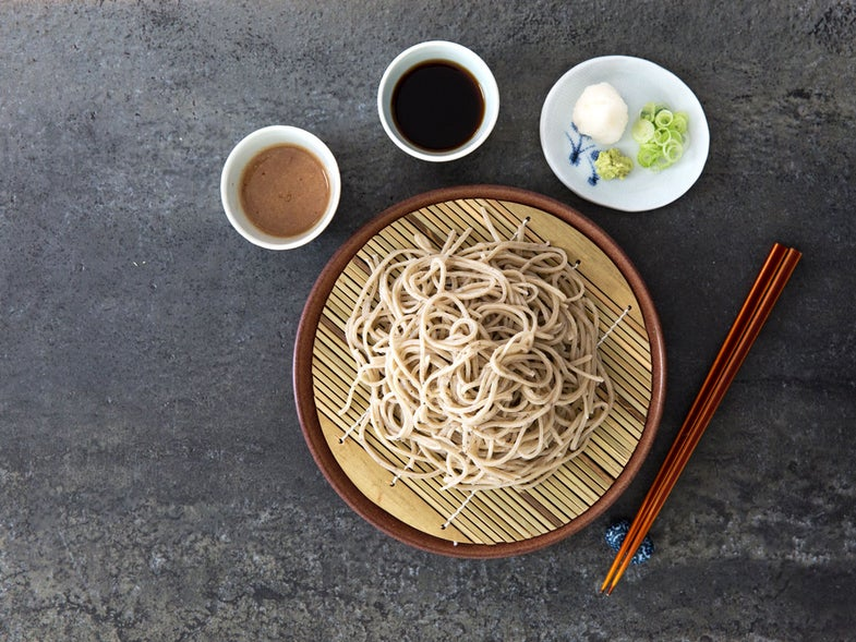 Soba Noodles with Two Dipping Sauces