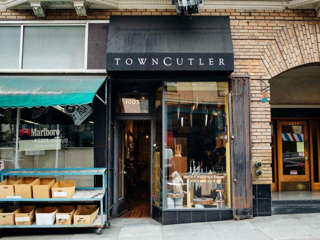 Shopfront Town Cutler
