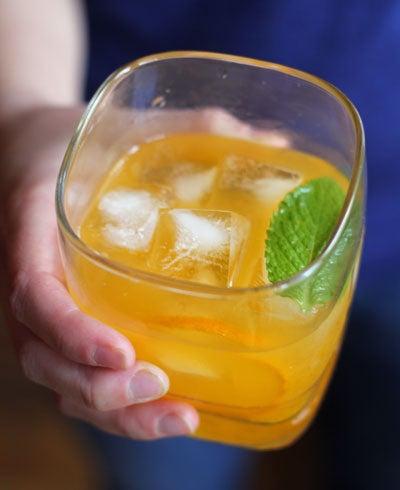 Tangerine Mint Sparkling Margarita