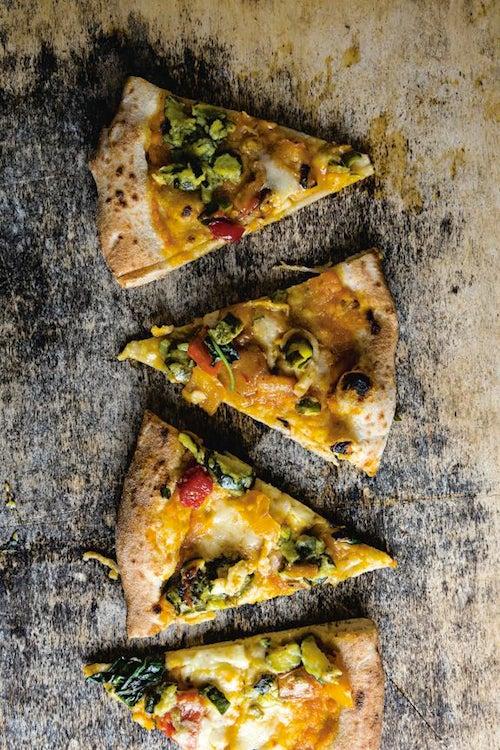 Butternut Squash and Smoked Mozzarella Pizza (Pizza del Papa)