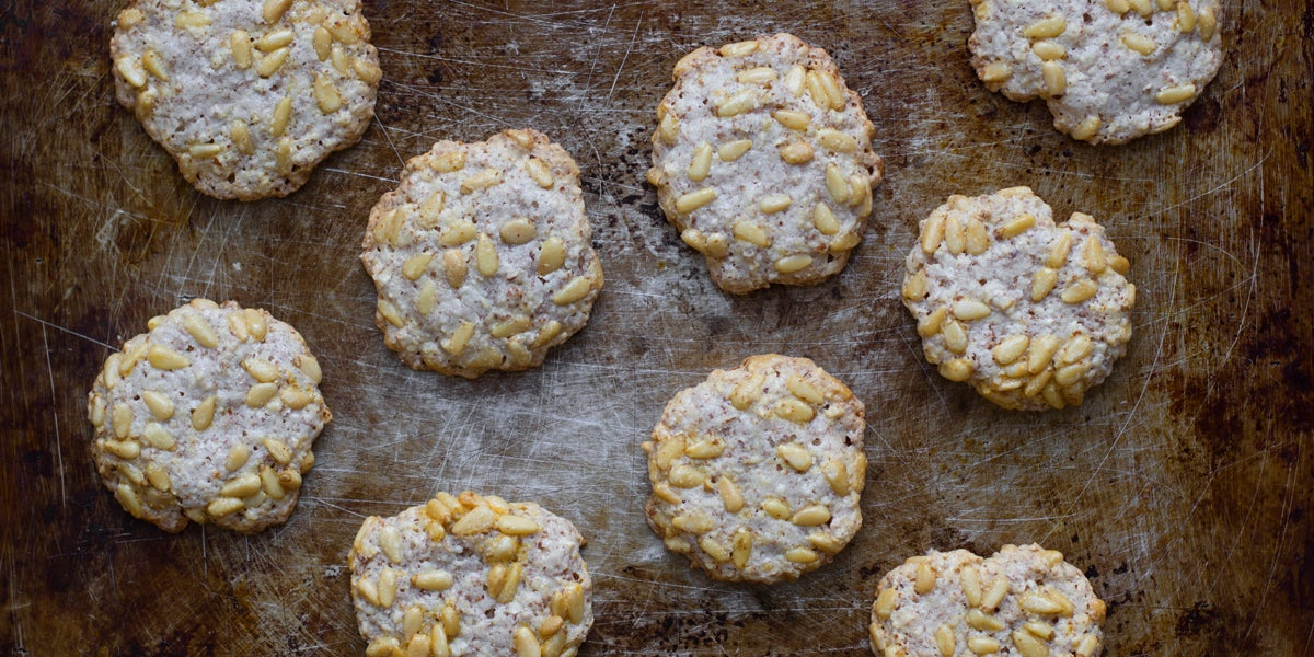 Pine Nut and Almond Biscuits