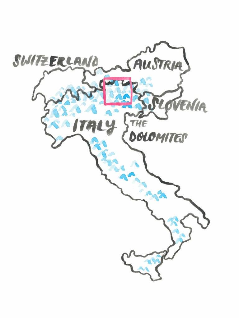 """Dolomites,"