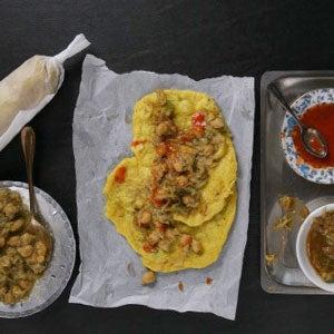 Chickpea Masala Sandwich