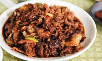 Korean Spicy Stir-Fried Pork Belly (Jeyuk Bokkeum)