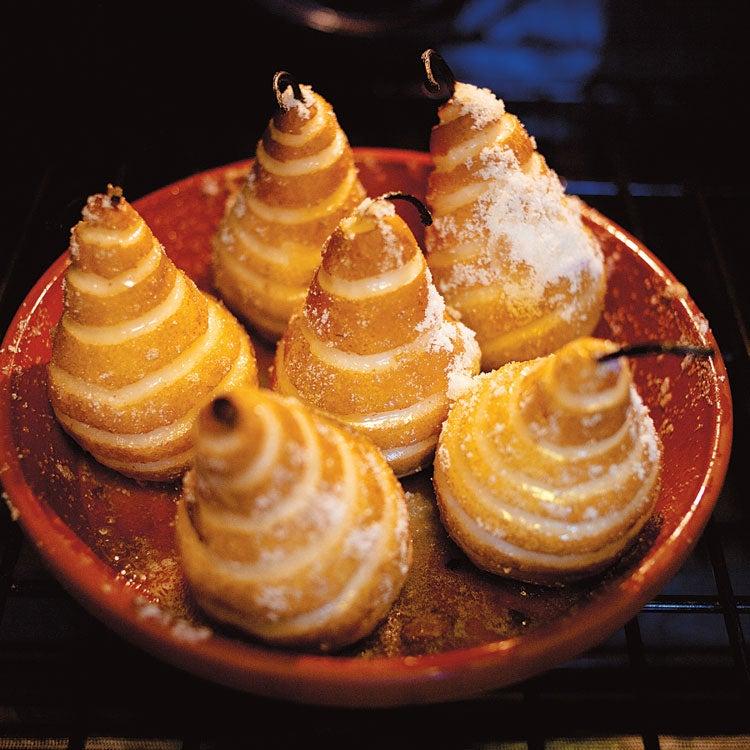 Roasted Sugar-Glazed Pears