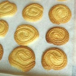 Paste di Meliga (Cornmeal Cookies)