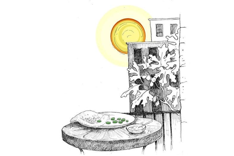 Food Poetry: Breakfast in Aleppo
