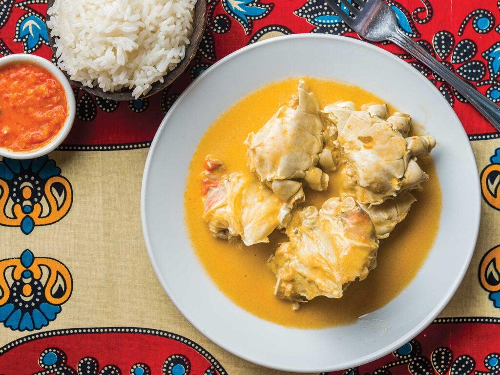 Coconut Crab Curry
