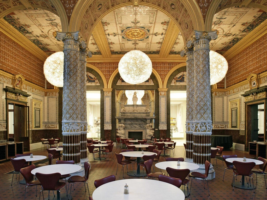 Victoria and Albert Museum Cafe London