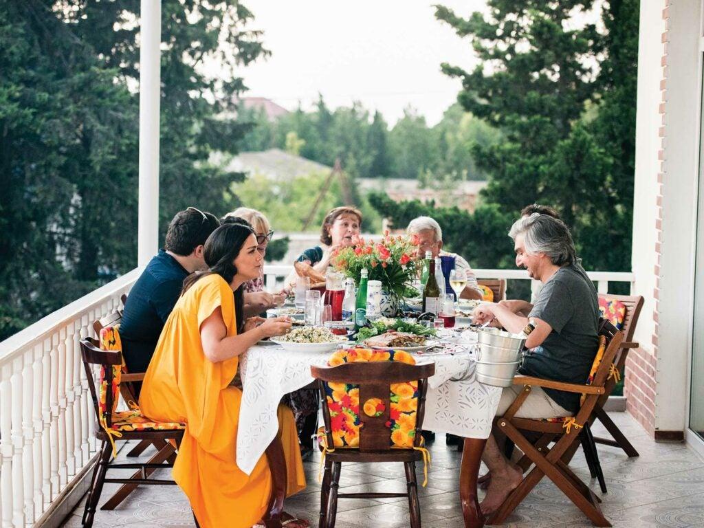 mehriban kazimova dinner baku azerbaijan