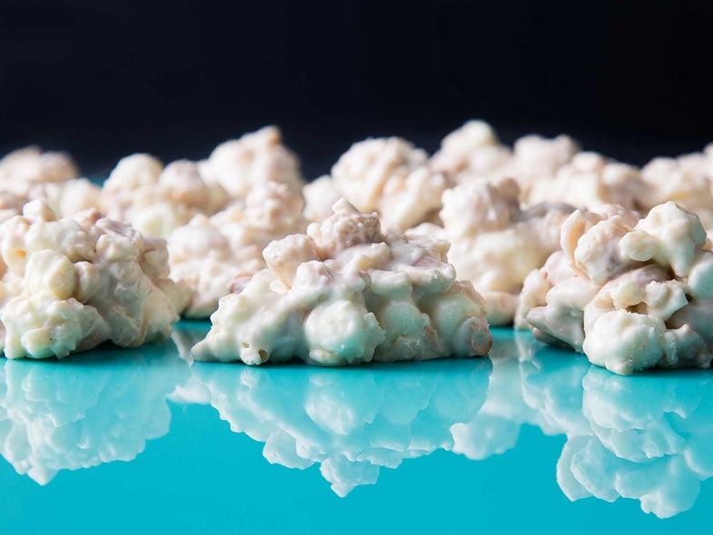 White Chocolate Crispies
