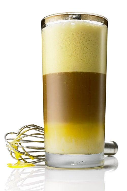 Padang-Style Egg Coffee (Kopi Telur)